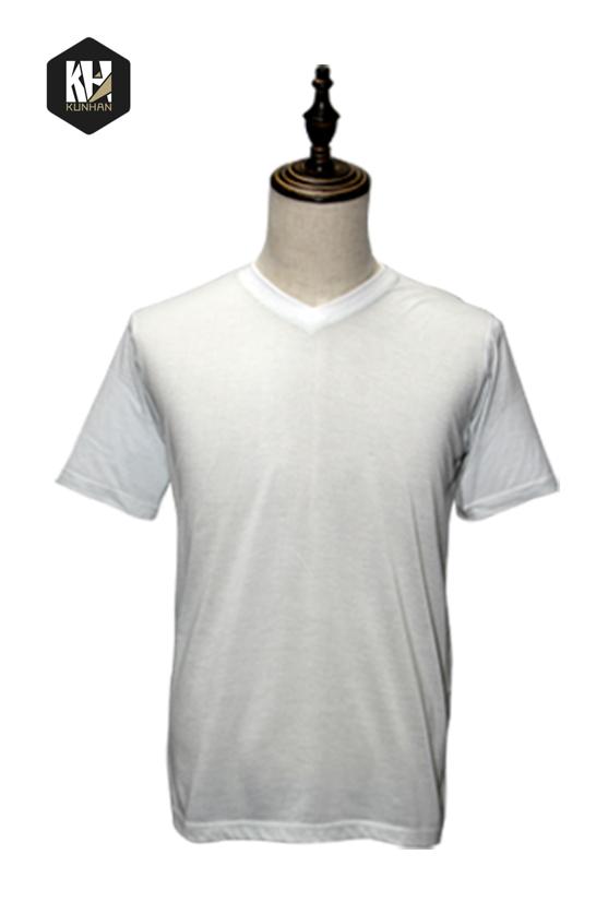 男式纯白T恤