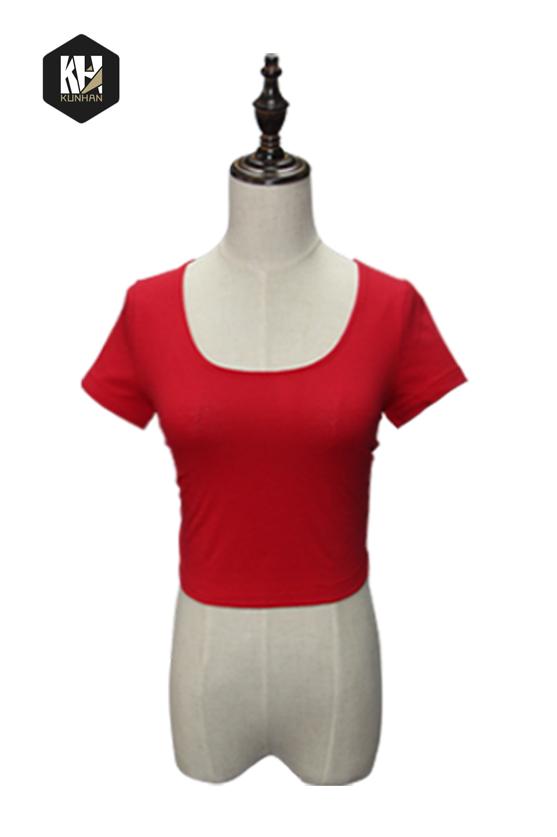 女式低腰短袖T恤
